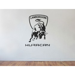 Huracan Wall Logo
