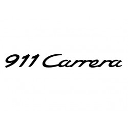 911 Carrera Decal