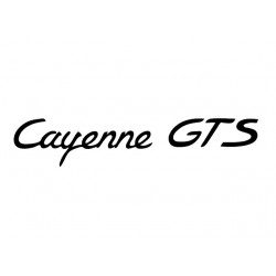 Cayenne GTS Decal
