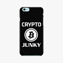 Crypto Junky Phone decal