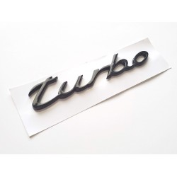 Black turbo Emblem