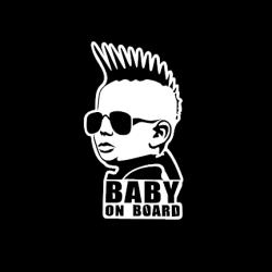 Mohawk Baby On Board