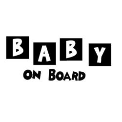 Baby On Board Square Blocks